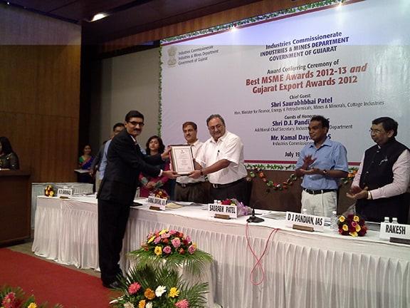 Best MSME Award - 2012-13